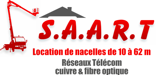 SAART (Société Axonaise d'Aménagement de Réseaux de Télécommunication) - Location de nacelles élévatrices de 10 à 62 mètres, aménagement de réseaux de Télécom